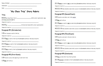 Field Trip Essay Example