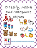 Classify and Categorize objects:  Engage NY Eureka Math Le