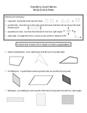 Classifying Quadrilaterals Study Guide