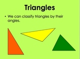 Classifying Triangles - Size of Angles by Kelly Katz