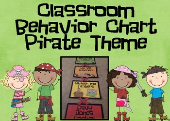 Classroom Behavior Chart: Pirate Theme