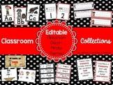 Classroom Collections: EDITABLE Pirate Theme Classroom Decor