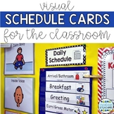 Classroom Daily Schedule {Editable}