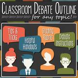Classroom debate outline: Organize a friendly class debate