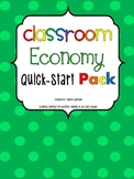 "Classroom Economy Quick-Start Pack With Different Themed ""Cash"""