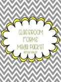 Classroom Management Forms
