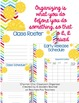 Classroom Forms and More (Organizer-Chevron) Editable