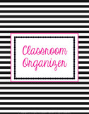 Classroom Forms and More (Organizer-Stripes) Editable
