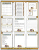 Classroom Forms and Substitute Information - Western Cowboy Theme