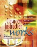 Classroom Instruction That Works Research-Based Strategies