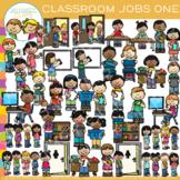 Little Shorties Classroom Jobs Clip Art