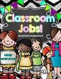 Classroom Jobs (Editable)