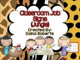 Classroom Jobs {Jungle}