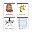 Classroom Jobs Poster Board