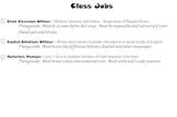 Classroom Jobs to help build classroom management