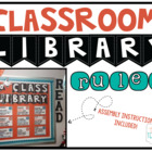 Classroom Library Rules [Orange & Turquoise]