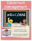 Classroom Management - Behavior and Classroom Library Orga