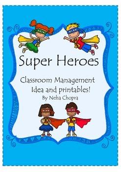 Classroom Management Idea- Super Heroes