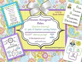 Classroom Management Posters {Quantum Learning} 12 pack