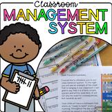 Classroom Management System - Clothespin Behavior Chart, V