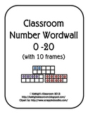 Classroom Number Wordwall
