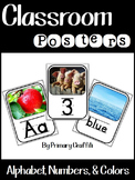 Classroom Posters {Real Photo Images}