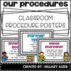 Classroom Procedure Posters
