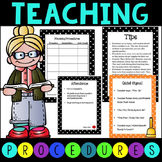 Classroom Rules and Procedures - Customize to Your Class!