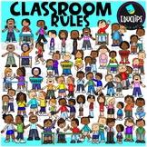 Classroom Rules Clip Art Bundle