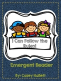 Classroom Rules {Emergent Reader}