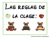 Classroom Rules for Spanish Class