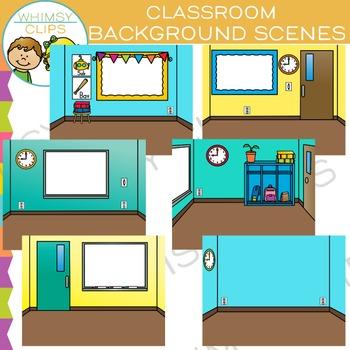 Classroom Scenes Clip Art