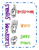 Classroom Signals