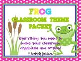 Classroom Theme {Frogs & Polka Dots}