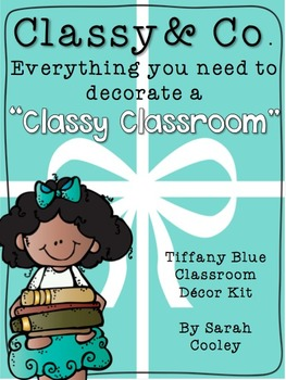 Classy & Co.:  A Classy Classroom Decor Kit