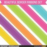 Borders - Ribbon Clipart