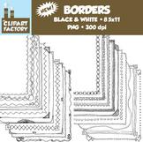 Clip Art: Page Borders - 20 NEW Fun decorative borders