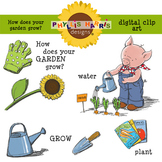 Clip Art for Teachers and Personal Projects-How Does Your