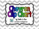 Clip Chart in Chevron Pattern