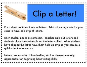 Clip a Letter!