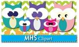 Clipart- Owl