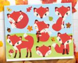 Clipart - So Foxy / Fox / Woodland Animals