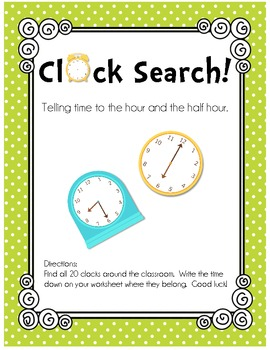 FREE 1st Grade Math: Clocks &a...