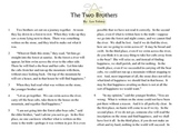 "Close Read Common Core Aligned ""The Two Brothers"" Lesson &"