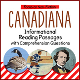 Reading Comprehension Passages - Canadian History
