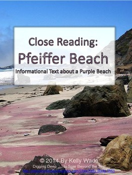 Close Reading: Pfeiffer Beach