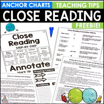 Close Reading for Teachers