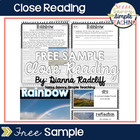 Close Reads: Freebie Sample {CCSS Aligned}
