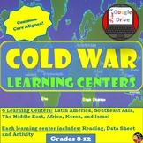 Cold War - Learning Centers -student centered activity (Wo