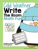 Cold Weather Write The Room Math Fun-Differentiated and Aligned